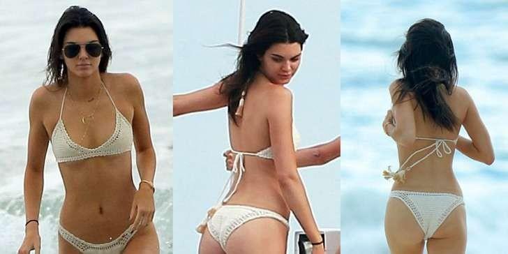 Kendall Jenner con algunas fotos reveladoras.
