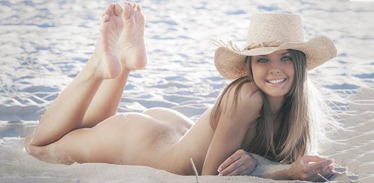 Michelle Clark, hermosa y sensual
