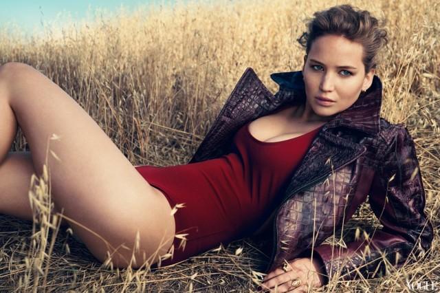 Jennifer Lawrence, los juegos de la seducción