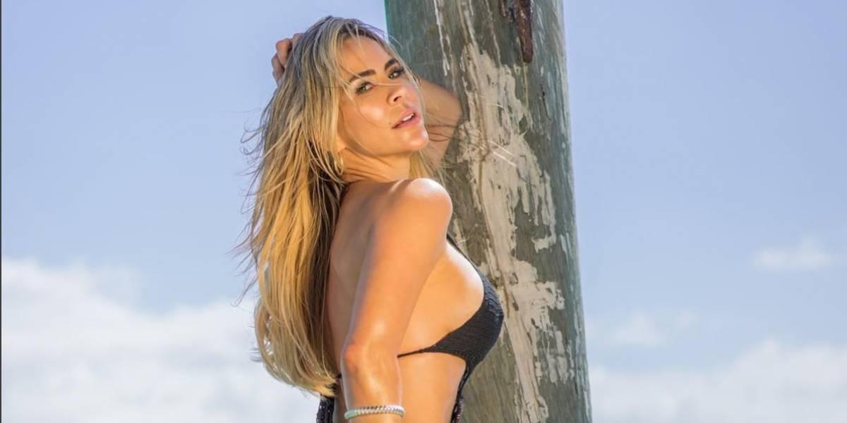 Aylín Mujica la encontramos al desnudo.