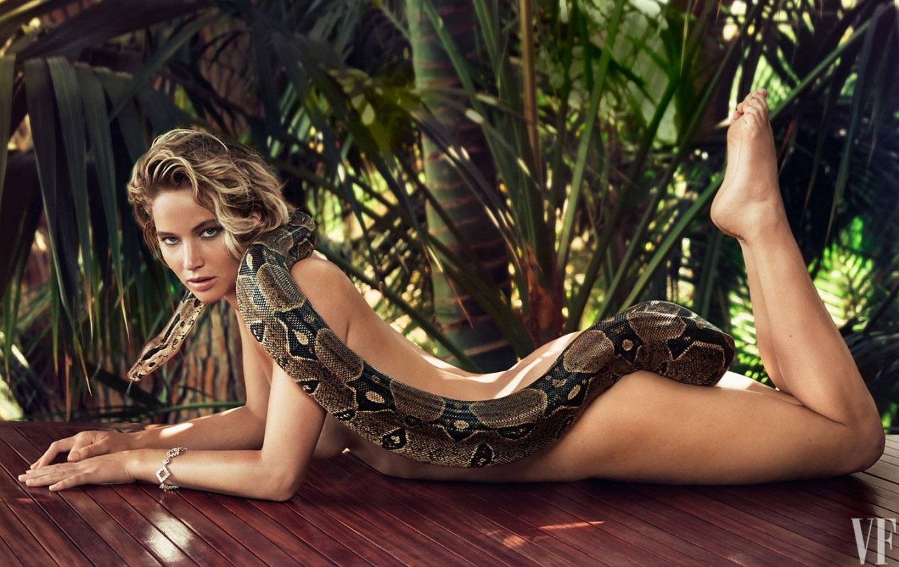 La reina de la sensualidad en Hollywood, Jennifer Lawrence